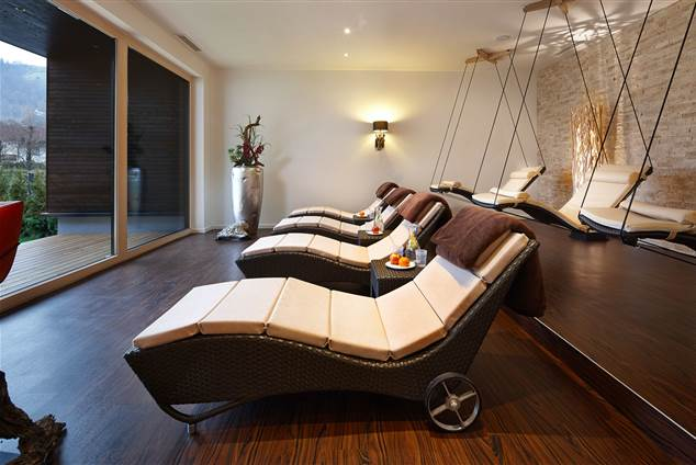 Relax loungers with panoramic view